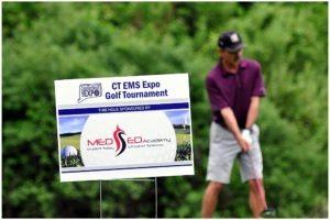 "Golf Tournament Tee Sign Hole Sponsor 18"" x 24"""